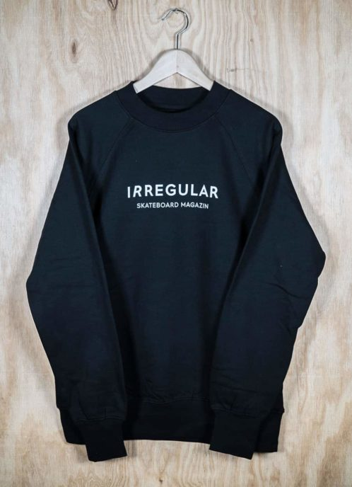 Irregularskatemag-new-logo-sweatshirt-black