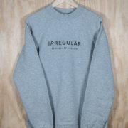 Irregularskatemag-new-logo-sweatshirt-grey
