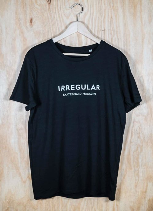 Irregularskatemag-new-logo-tee-black