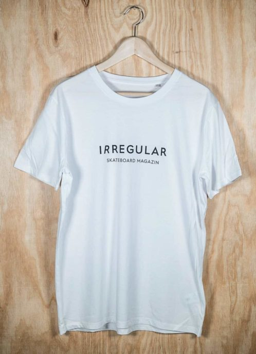 Irregularskatemag-new-logo-tee-white