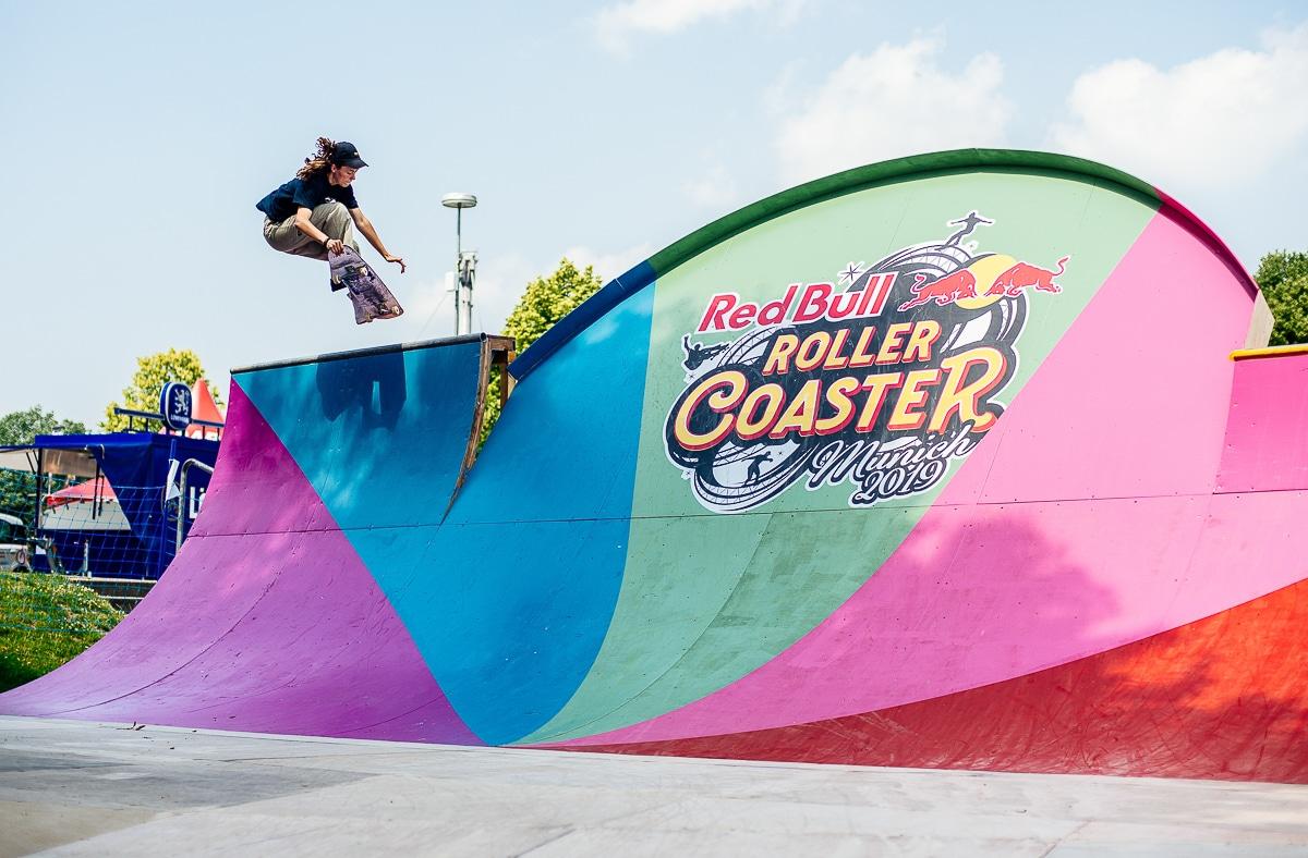 Redbull Roller Coaster Skate Practise
