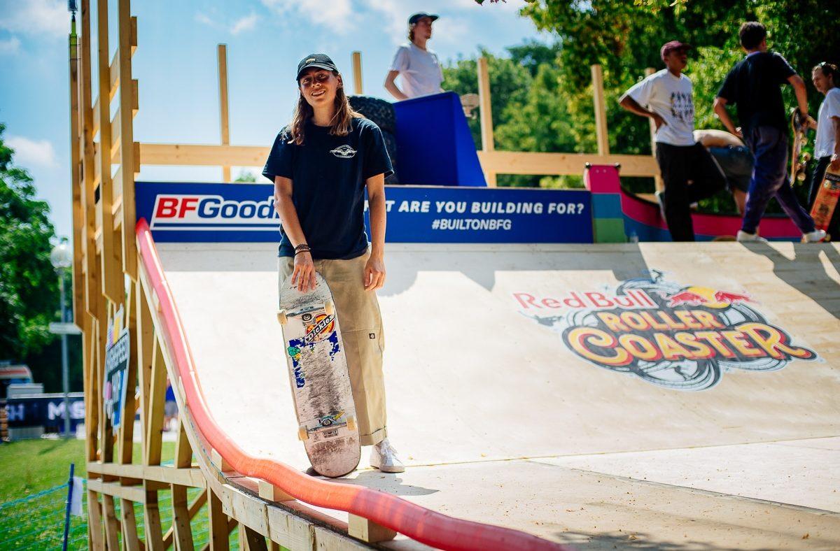 Redbull Roller Coaster Skate Practise Lifestyle